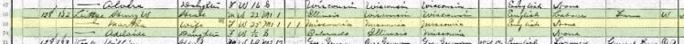 Littge 1910 census