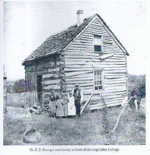 Log Cabin College Photo Before 18990001