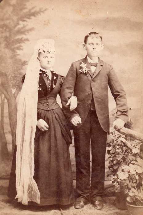 Maria Mueller Karl Hoffmann wedding