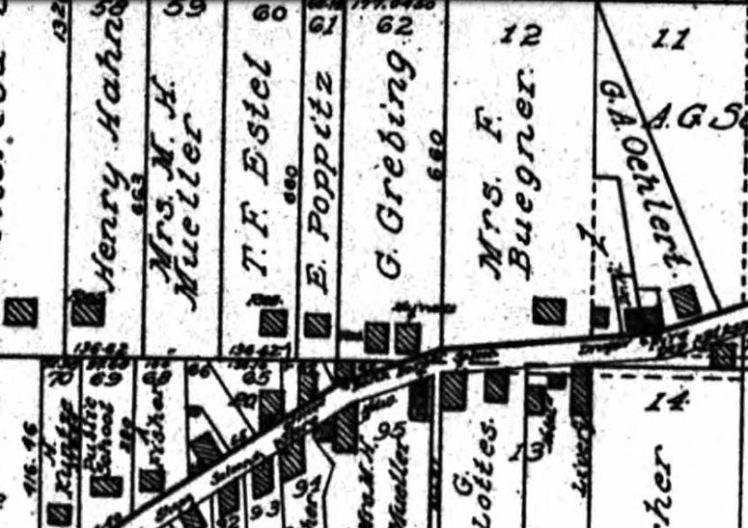 Neubeck Estel map