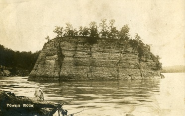 Tower Rock early 1900 X