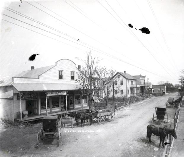 Fritsche & Noennig store circa 1915