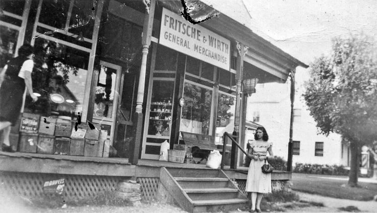 Fritsche & Wirth store 1945