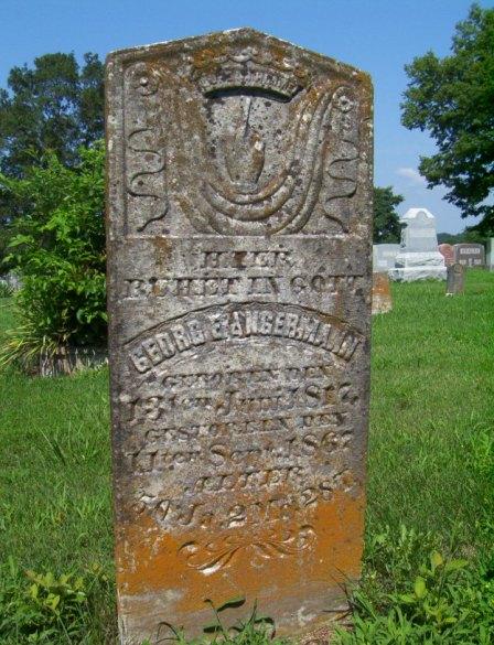 George Angermann gravestone