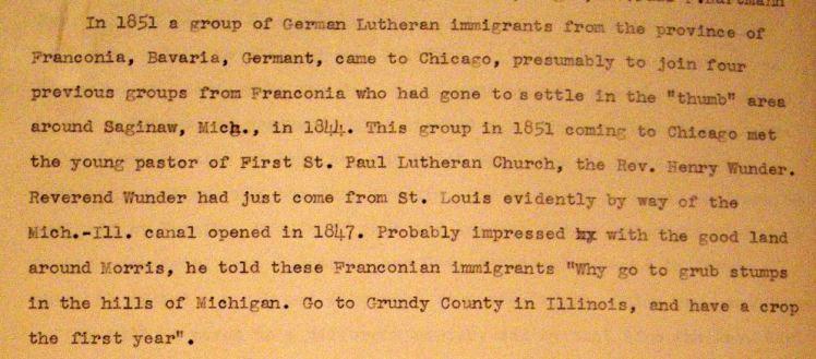 Goodfarm Lutheran history 1