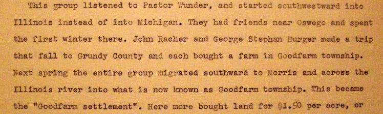 Goodfarm Lutheran history 2