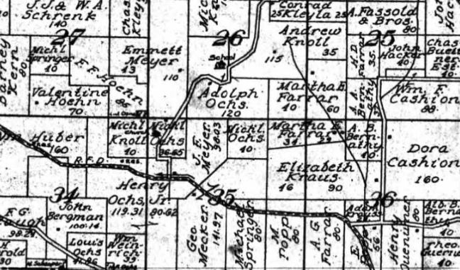 J.F. Meyer land map