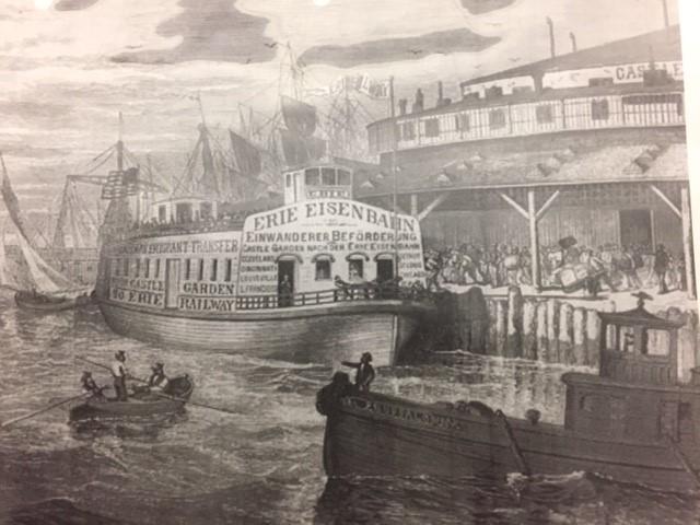 Lake Erie boat