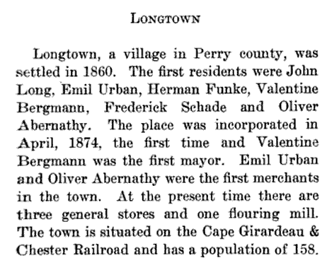 Longtown history