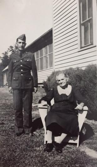 Dad and Grandma Bertha
