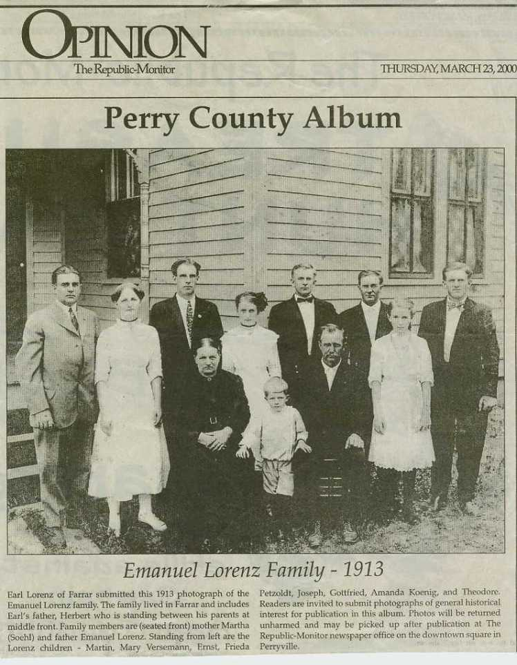 Emmanuel Lorenz family