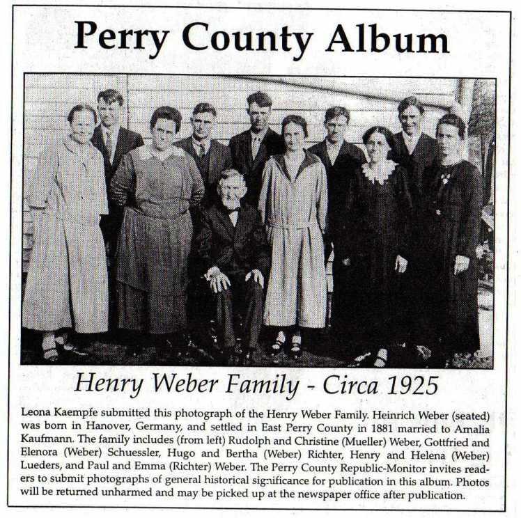 Henry Weber family