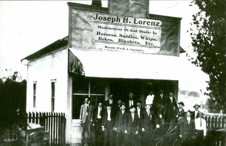 Lorenz store Friedheim 1911