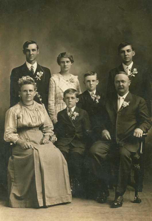 Otto Oswald family