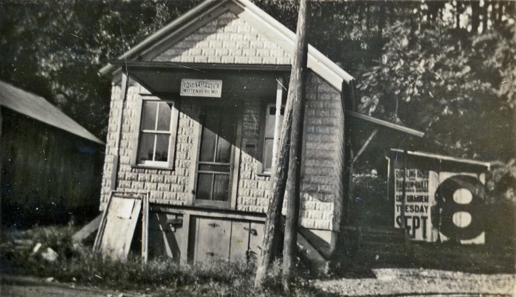 Post Office 1930's X