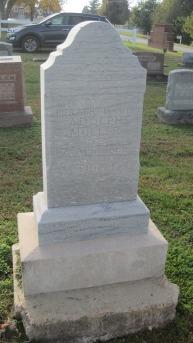 Adolph Mueller gravestone Farrar
