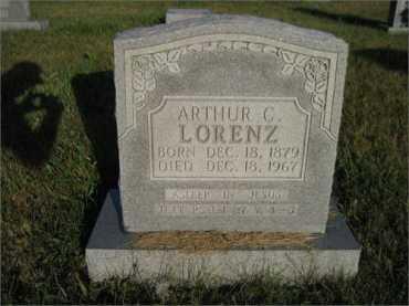 Arthur Lorenz gravestone
