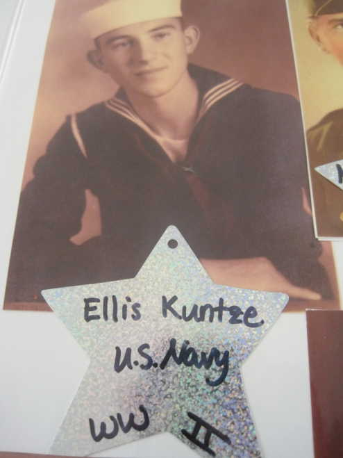 Ellis Kuntze military