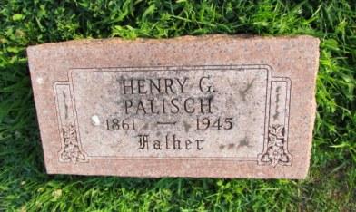 Henry Palisch gravestone Our Redeemer St. Louis