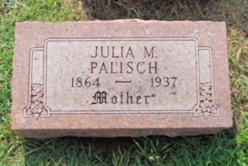 Julia Palisch gravestone Our Redeemer St. Louis