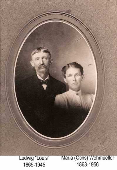 Louis and Maria Wehmueller