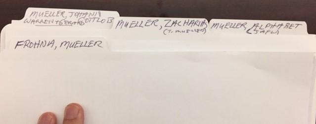 Mueller binder