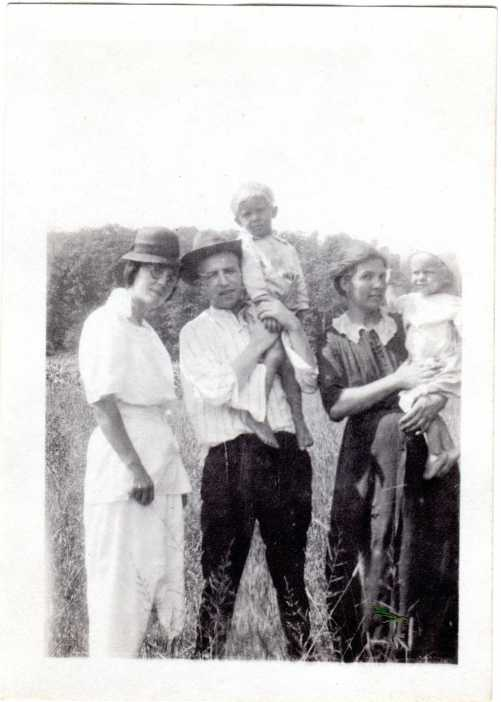 Walter Sandler with others