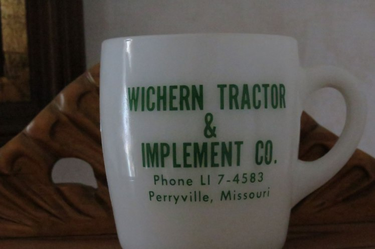 Wichern Tractor Co mug