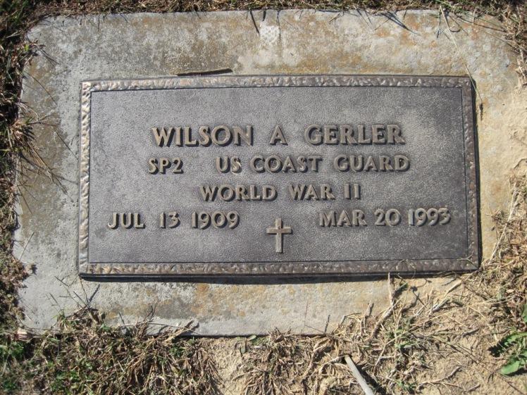 Wilson Gerler gravestone Trinity Altenburg