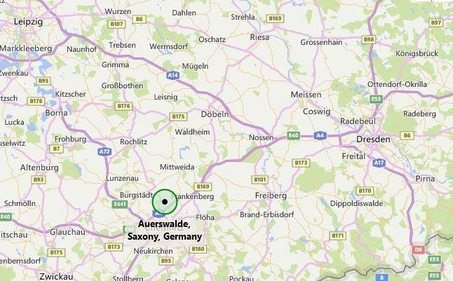 Auerswalde, Germany map
