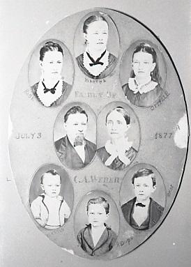 Charles Weber family