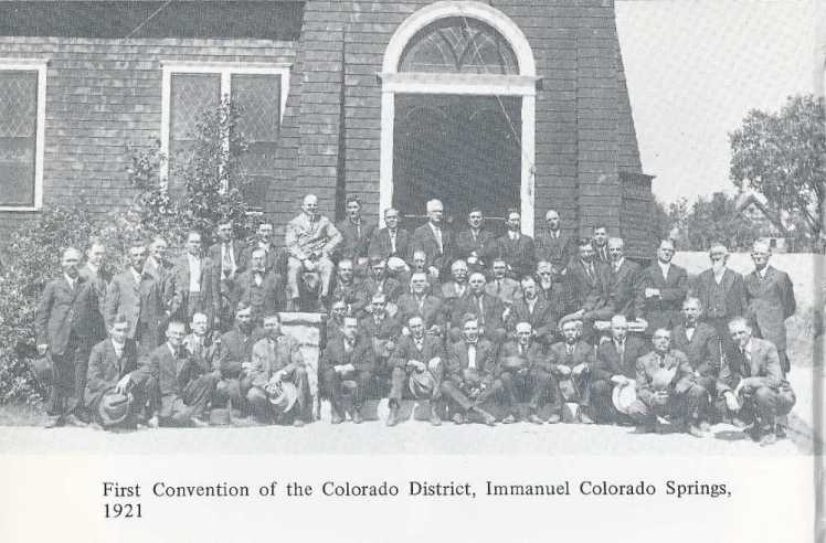 Colorado District photo 1921 Diedrich Blancken