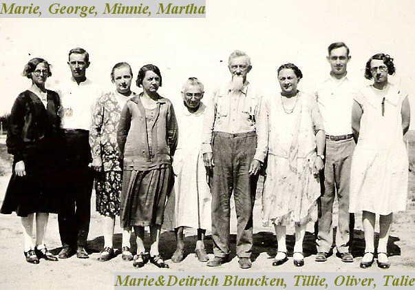 Diedrich Blancken family
