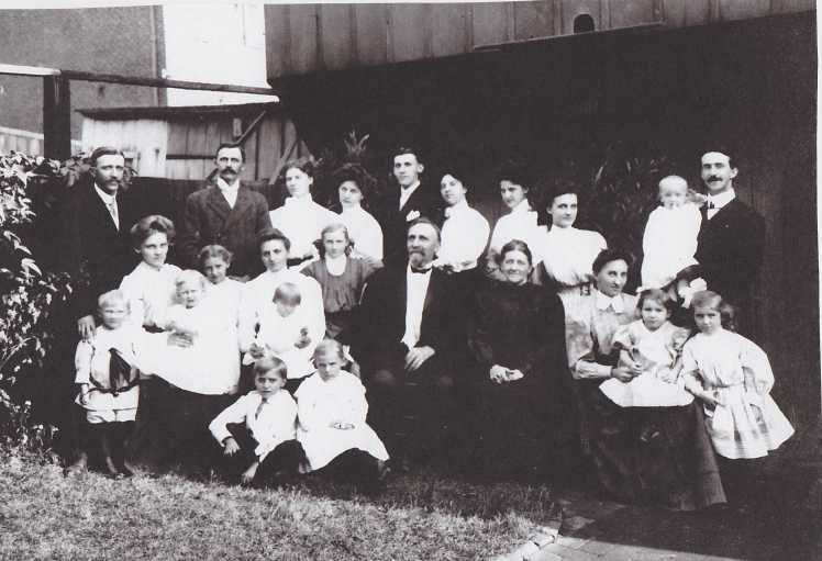 Erich Mueller family 1908