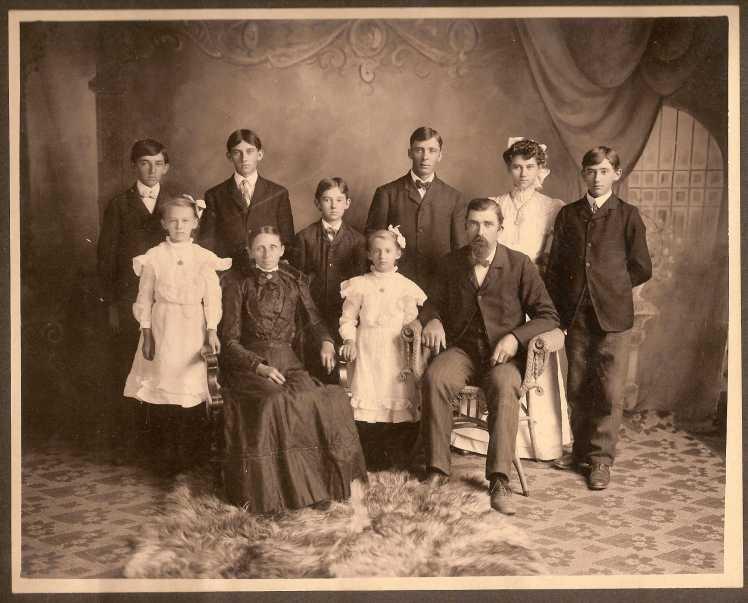 Frank Burroughs family