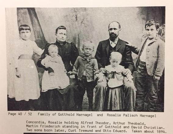 Gotthold Harnagel family 1894