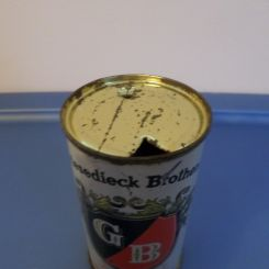Griesedieck beer can