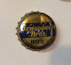 Griesedieck beer crown