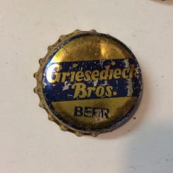 Griesedieck beer crown