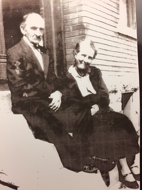 Johann and Minnie Burroughs