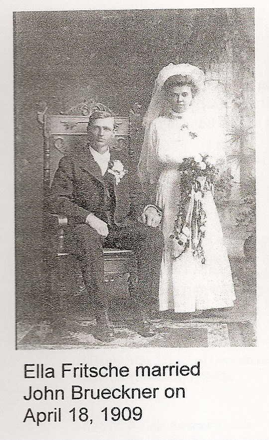 John and Ella Brueckner wedding