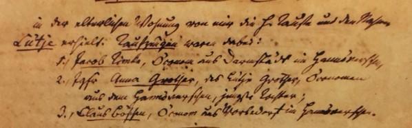 Luetje Holschen baptism record 2 Trinity Altenburg