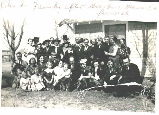 Maria Blancken funeral family photo 1939