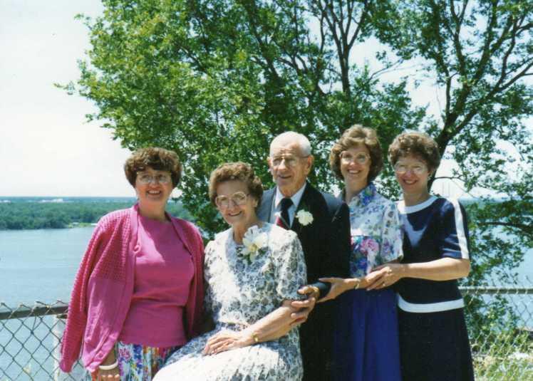 Marvin Margaret Kieninger 55th wedding anniversary