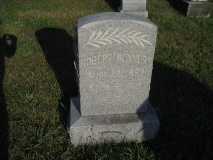 Robert Nennert gravestone Wittenberg