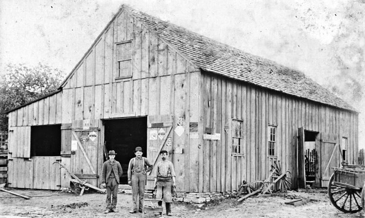 Schade blacksmith shop Also Adolph Schmidt shop