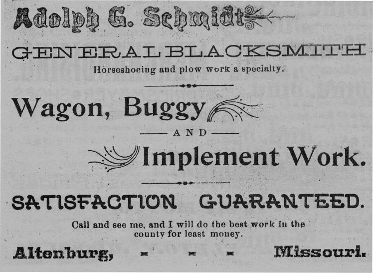 Schmidt Blacksmith AD