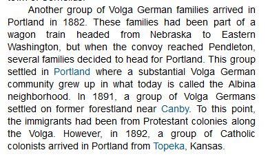 Volga German in Portland