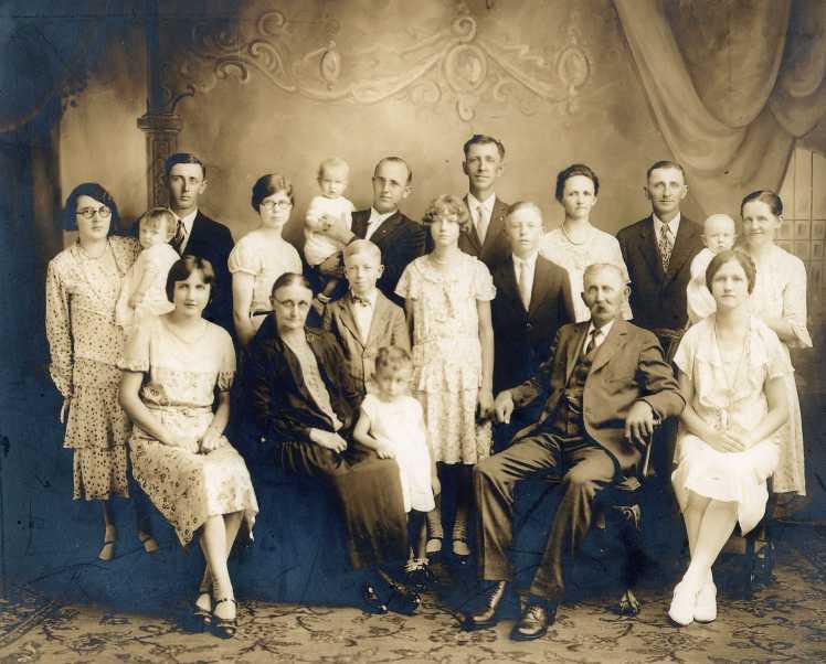 Wilhelm Doering family
