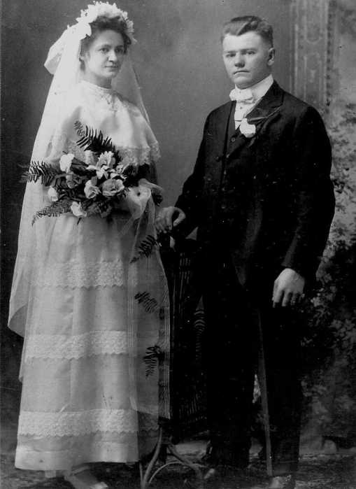 Alfred and Mamie Engert wedding